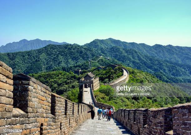 the great wall - lauro stock pictures, royalty-free photos & images
