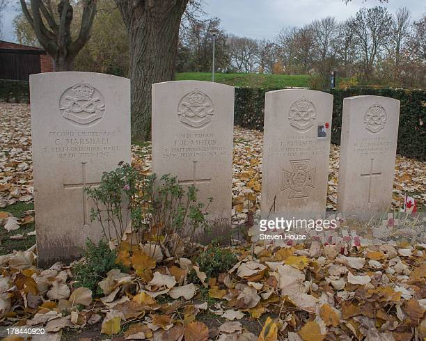 The Great War Dressing Station, Bunkers and Cemetery at Essex Farm, Ypres, Flanders, Belgium One of the graves here is of the youngest person to be...