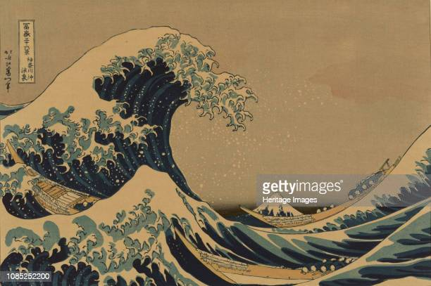 The Great Wave off the Coast of Kanagawa 18301833 Private Collection