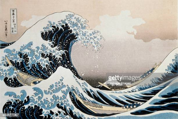 'The Great Wave off the Coast of Kanagawa' c1829c1831 From the series 36 Views of Mount Fuji Found in the collection of the State A Pushkin Museum of...