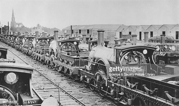 The Great Western Railway abandoned the broad gauge system in 1892 and several miles of sidings were laid at Swindon 130 of the 195 locomotives taken...