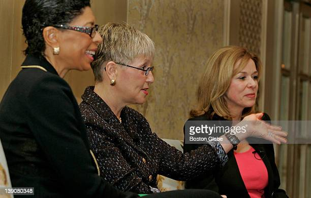 The Greater Boston Chamber of Commerce held its Women's Network Breakfast this morning at the Four Seasons Hotel Guest panelists for the event were...