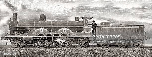 The Greater Britain Passenger Locomotive From The Book Short History Of The English People By JR Green Published London 1893