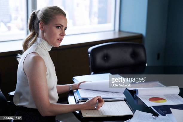 SUITS 'The Greater Good' Episode 813 Pictured Amanda Schull as Katrina Bennett