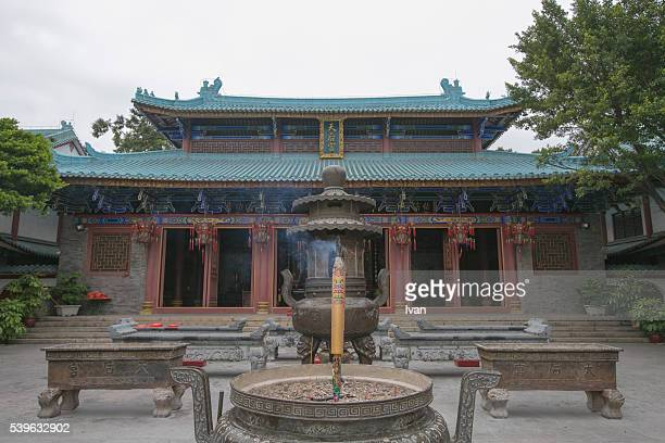the greatest ancient chinese mazu temple - buddhist goddess imagens e fotografias de stock