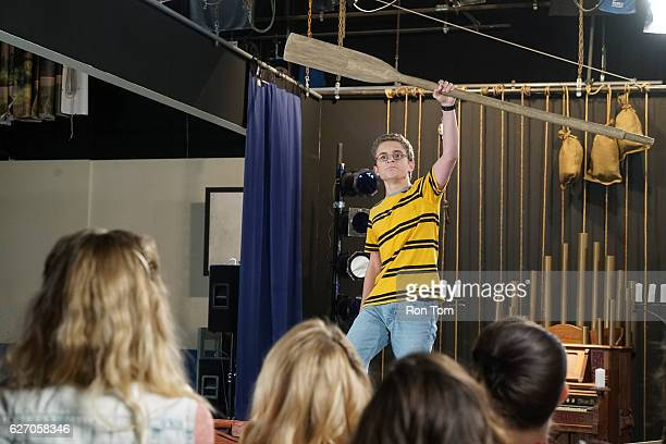 THE GOLDBERGS 'The Greatest Musical Ever Written' Barry makes fun of Adam for wanting to be in theater but he suddenly becomes jealous when he...