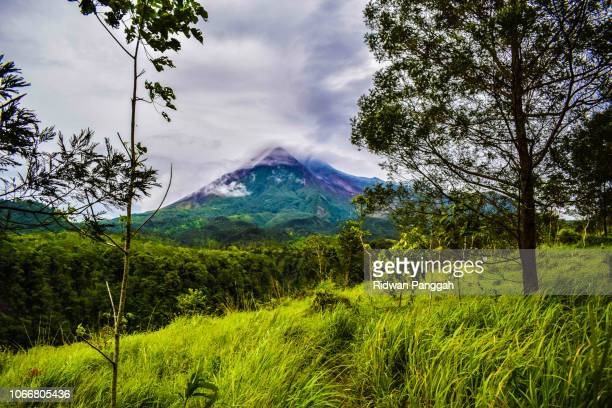 the greatest of mt merapi - surakarta stock photos and pictures