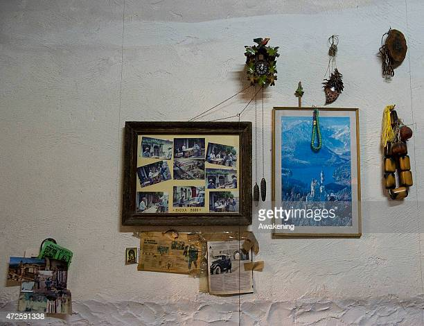 The Greece pavillion at the Giardini during the 56 Venice Biennale Art on May 8 2015 in Venice Italy