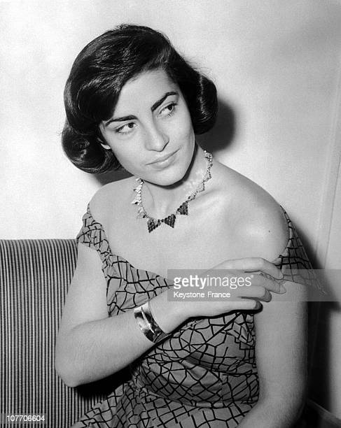 The Greek Actress In London On June 24Th 1954
