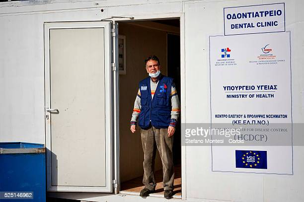 The greek dentist of Palestinian origin who carries out voluntary work in the Temporary accommodation center for immigrants in Eleonas of Athens 11...