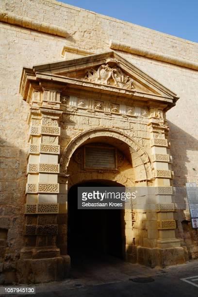 The Greek Gate of Mdina, at Dusk, Malta