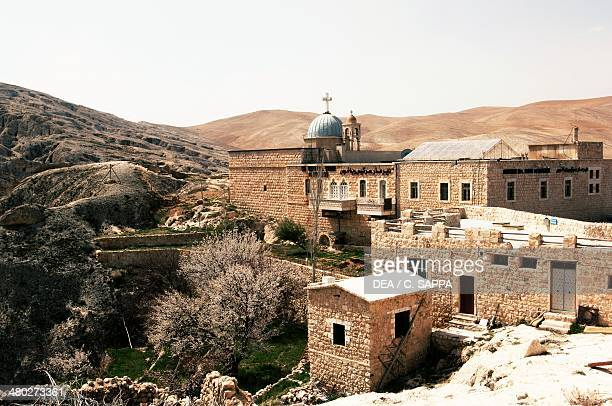 The Greek Orthodox Sts Sergius and Bacchus monastery Maaloula Syria