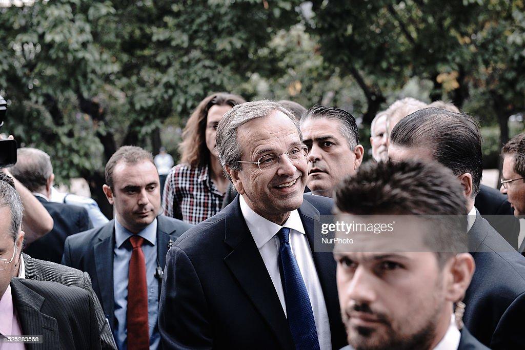 Antonis Samaras attends Thessaloniki International Fair inauguration : News Photo