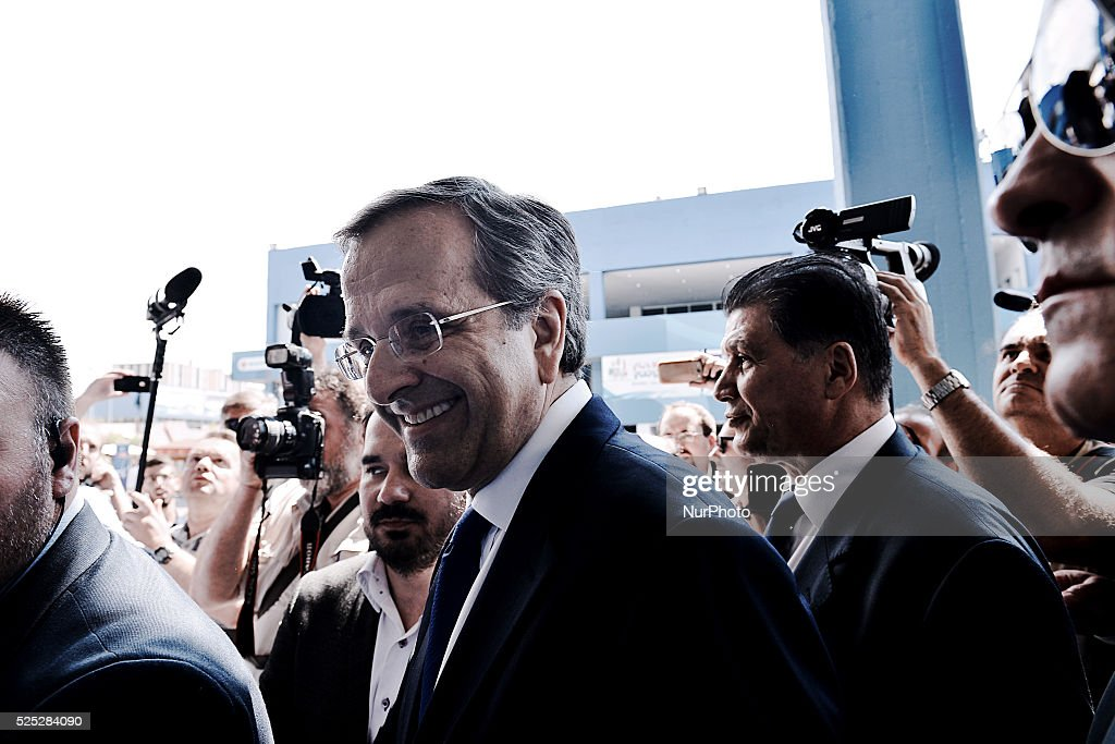 Antonis Samaras attends Thessaloniki International Fair inauguration : News Photo
