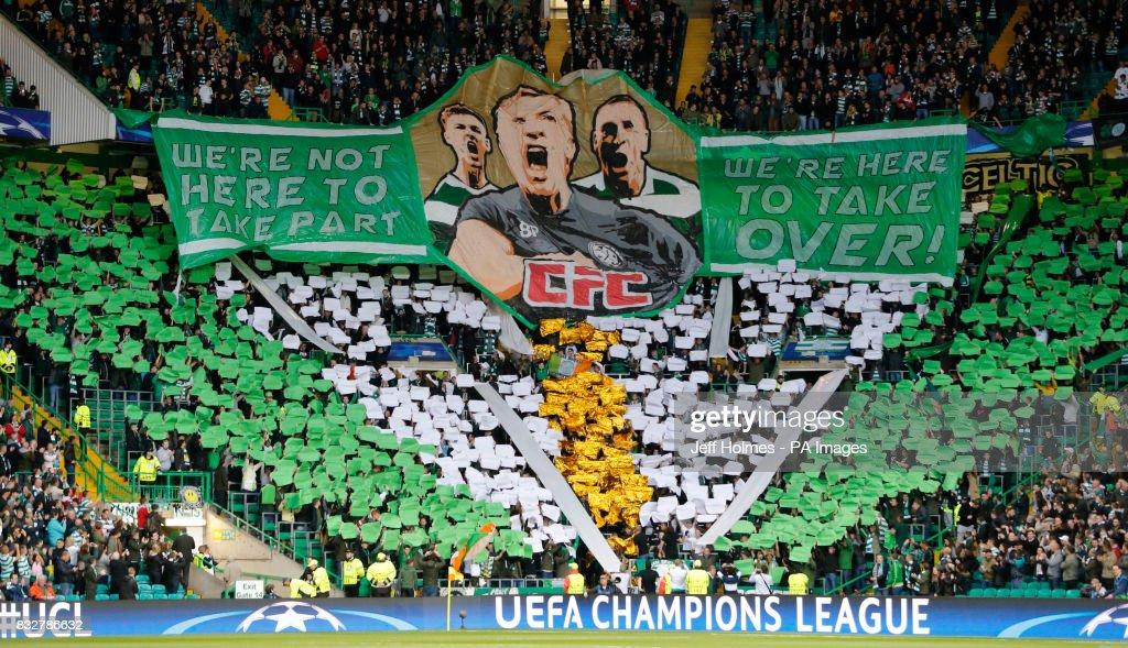 Celtic v FC Astana - UEFA Champions League Play-Off - First Leg - Celtic Park : News Photo