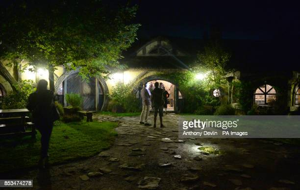 The Green Dragon pub in Hobbiton the film set for the Hobbit and Lord of the Rings near Hamilton New Zealand PRESS ASSOCIATION Photo Picture date...