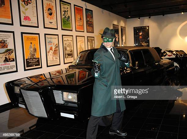 The Green Hornet at the 'Batman 66 Meets The Green Hornet' Comic Book Kickoff Fatman On Batman Live Podcast With Kevin Smith And Ralph Garman held at...