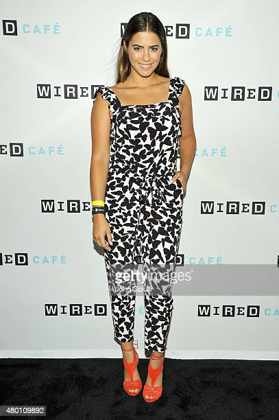 'The Green Inferno' actress Lorenza Izzo attends WIRED Cafe at Comic Con 2015 in San Diego at Omni Hotel on July 9 2015 in San Diego California