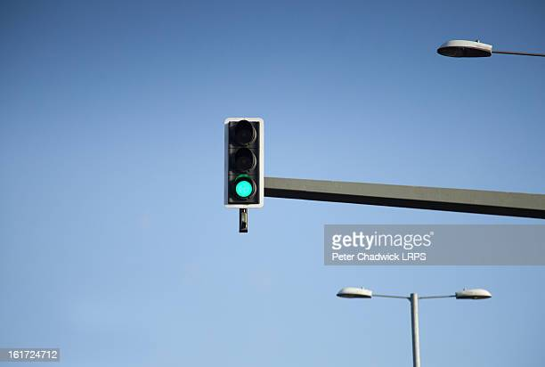 the green light - stoplight stock pictures, royalty-free photos & images