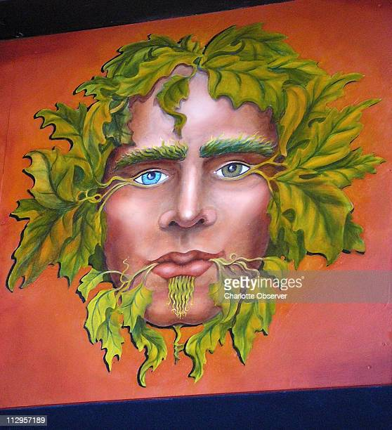 The Green Man is the symbol of Jack in the Woods nightclub in Asheville North Carolina
