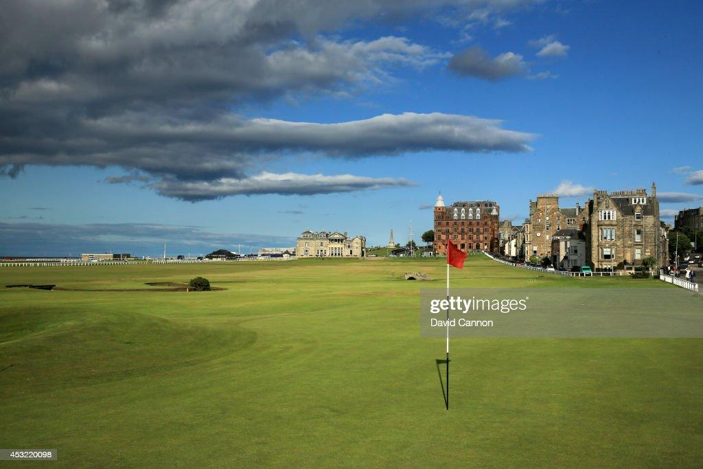 The Old Course St Andrews : Nachrichtenfoto