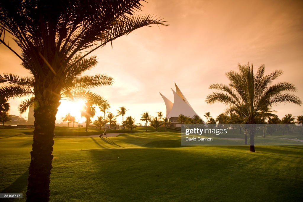 General Views of Dubai Golf Courses : News Photo