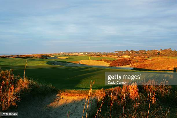 The green on the par 5 16th hole on The Ocean Course at Kiawah Island, on November 18 in Kiawah Island, South Carolina, USA.
