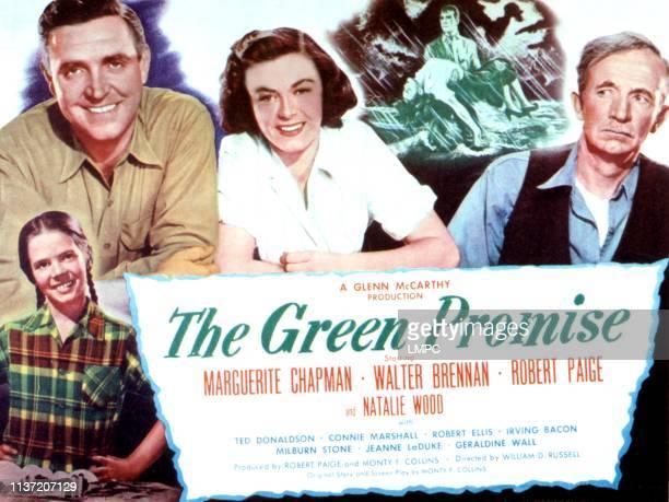 The Green Promise lobbycard Natalie Wood Robert Paige Marguerite Chapman Walter Brennan 1949