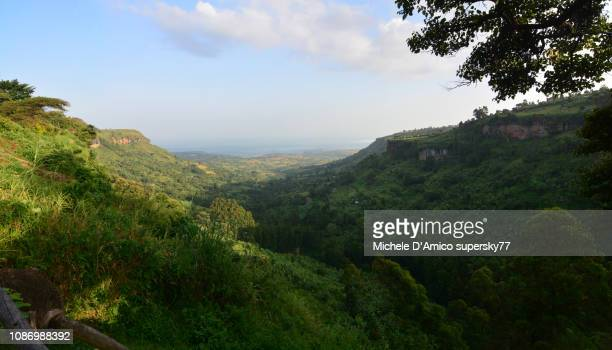 The green valley at Sipi
