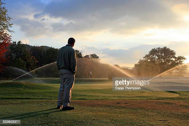 the greenskeeper - ground staff stock pictures, royalty-free photos & images