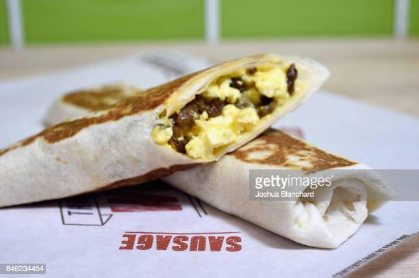 The Grilled Breakfast Burrito is a staple on Taco Bell's breakfast menu