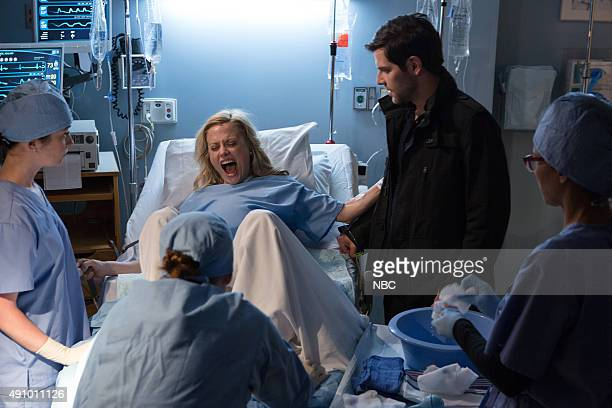 GRIMM 'The Grimm Identity' Episode 501 Pictured Claire Coffee as Adalind David Giuntoli as Nick Burkhardt