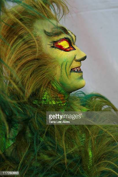 The Grinch during Target Celebrates Joy of Reading at The New York Times Great Read in the Park at Bryant Park in New York City New York United States