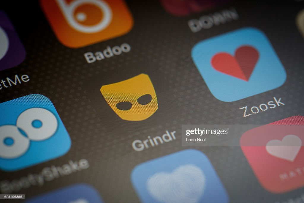 The 'Grindr' app logo is seen amongst other dating apps on a mobile phone screen on November 24, 2016 in London, England. Following a number of deaths linked to the use of anonymous online dating apps, the police have warned users to be aware of the risks involved, following the growth in the scale of violence and sexual assaults linked to their use.