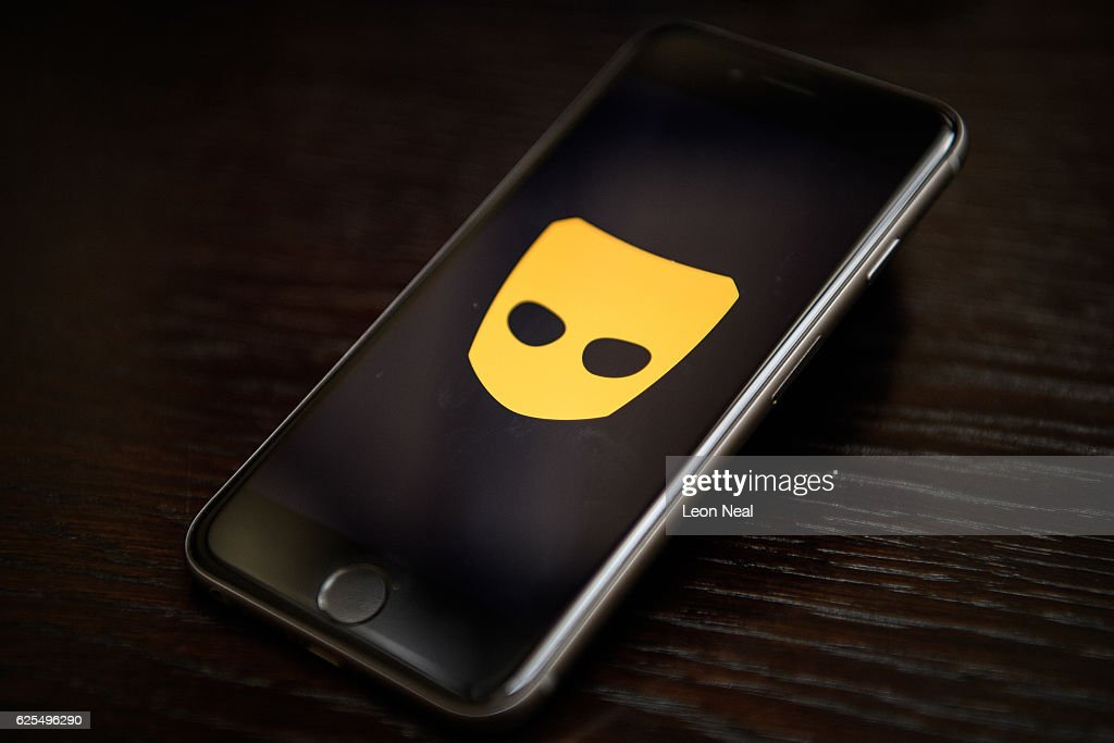 The 'Grindr' app logo is seen on a mobile phone screen on November 24, 2016 in London, England. Following a number of deaths linked to the use of anonymous online dating apps, the police have warned users to be aware of the risks involved, following the growth in the scale of violence and sexual assaults linked to their use.