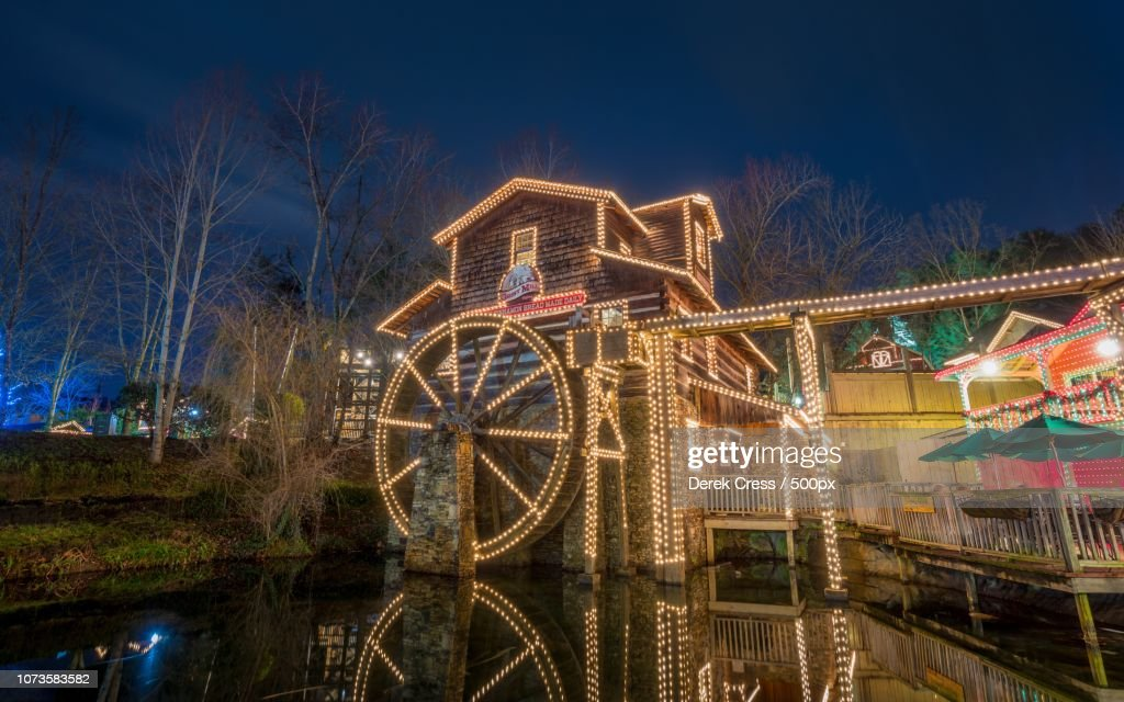 The Grist Mill at Dollywood : Stock Photo