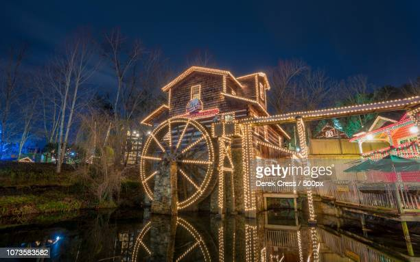 the grist mill at dollywood - dollywood stock pictures, royalty-free photos & images