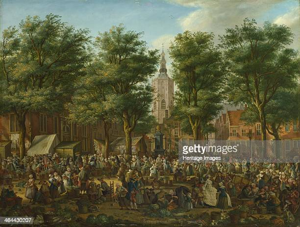 The Grote Markt at The Hague 1760 Found in the collection of the National Gallery London