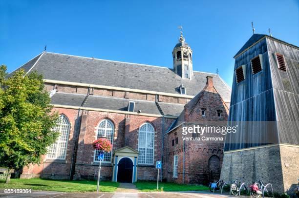 The Grote of Martinikerk Church of Sneek - Friesland, Netherlands