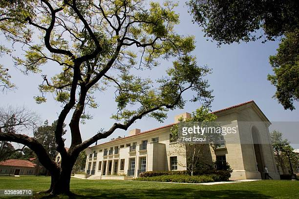 The grounds on the Pomona College Campus in California