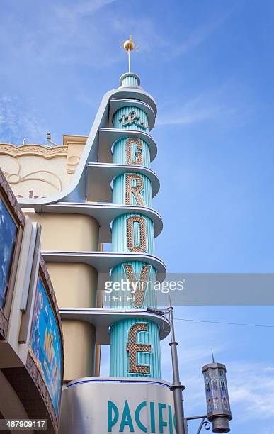 the grove - los angeles - the grove los angeles stock pictures, royalty-free photos & images