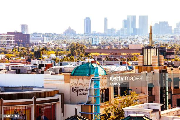 the grove, los angeles - the grove los angeles stock pictures, royalty-free photos & images