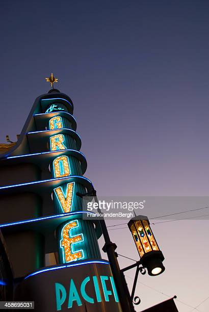 the grove - the grove los angeles stock pictures, royalty-free photos & images