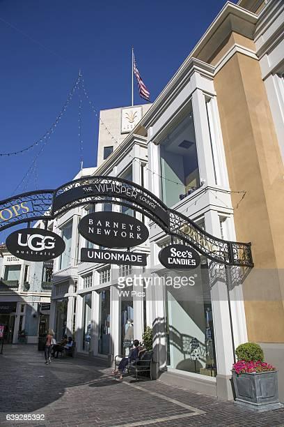 The Grove Shopping Center Los Angeles California USA
