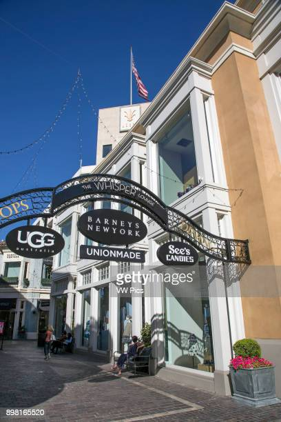 The Grove Shopping Center Los Angeles California USA