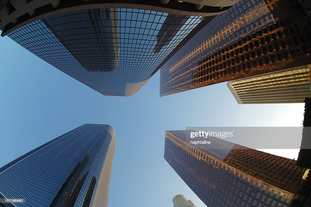The Growing city : Stock Photo