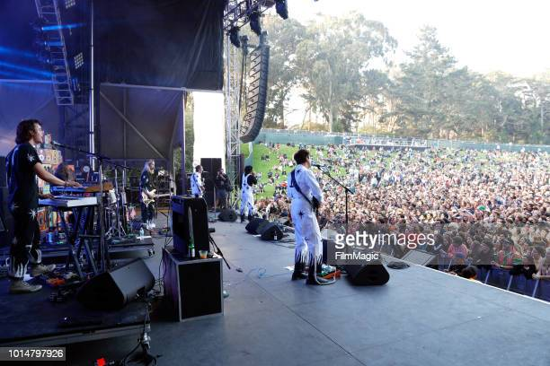 The Growlers perform on the Sutro Stage during the 2018 Outside Lands Music And Arts Festival at Golden Gate Park on August 10 2018 in San Francisco...