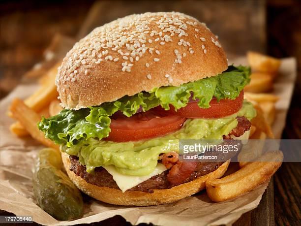 The Guacamole Bacon Burger