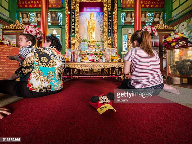 The Guan Yin Shrine Bangkok Thailand