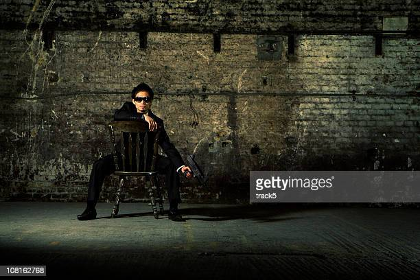 the guard - mafia stock pictures, royalty-free photos & images